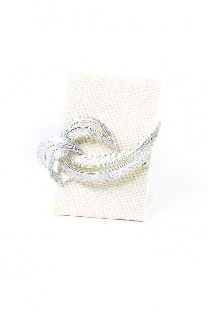 60's__Sarah Coventry__Swirl Feather Brooch