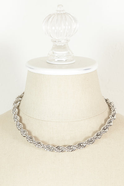 60's__Napier__Classic Rope Chain Necklace
