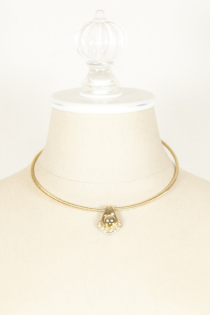 80's__Joan Rivers__2n1 Jeweled Choker