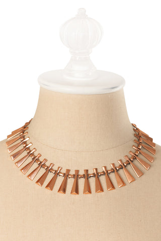 50's__Renoir__Statement Fringe Necklace