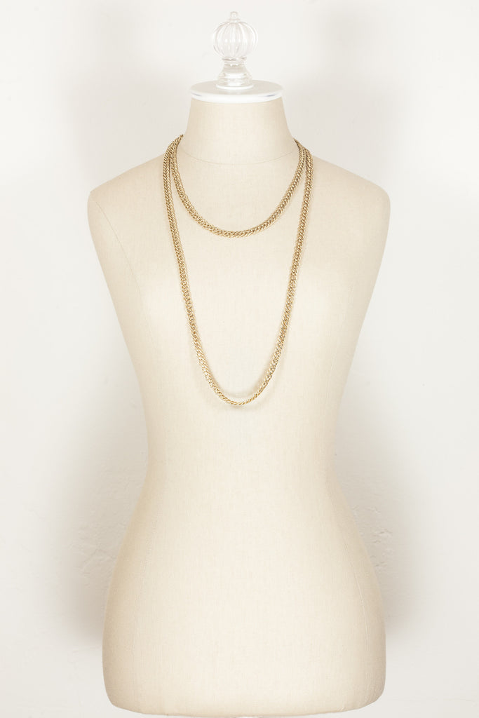 70's__Monet__Classic Extra Long Chain