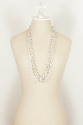80's__Joan Rivers__Chunky Crystal Necklace
