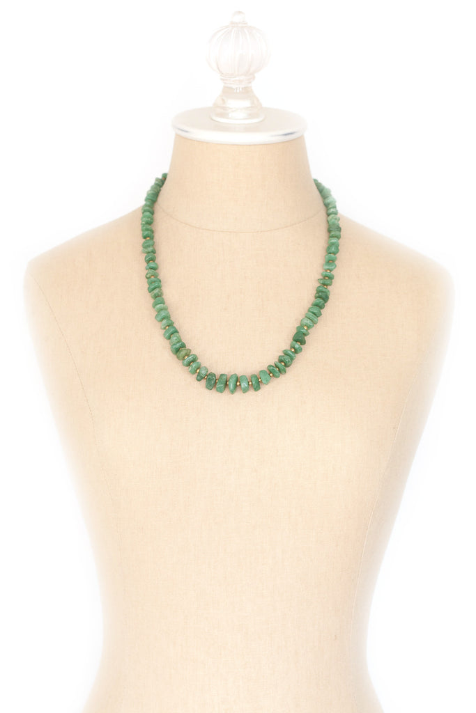 50's__Vintage__Jade Necklace