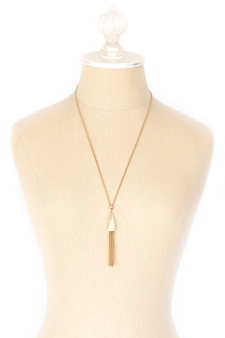 70's__Direction One__Simple Tassel Necklace