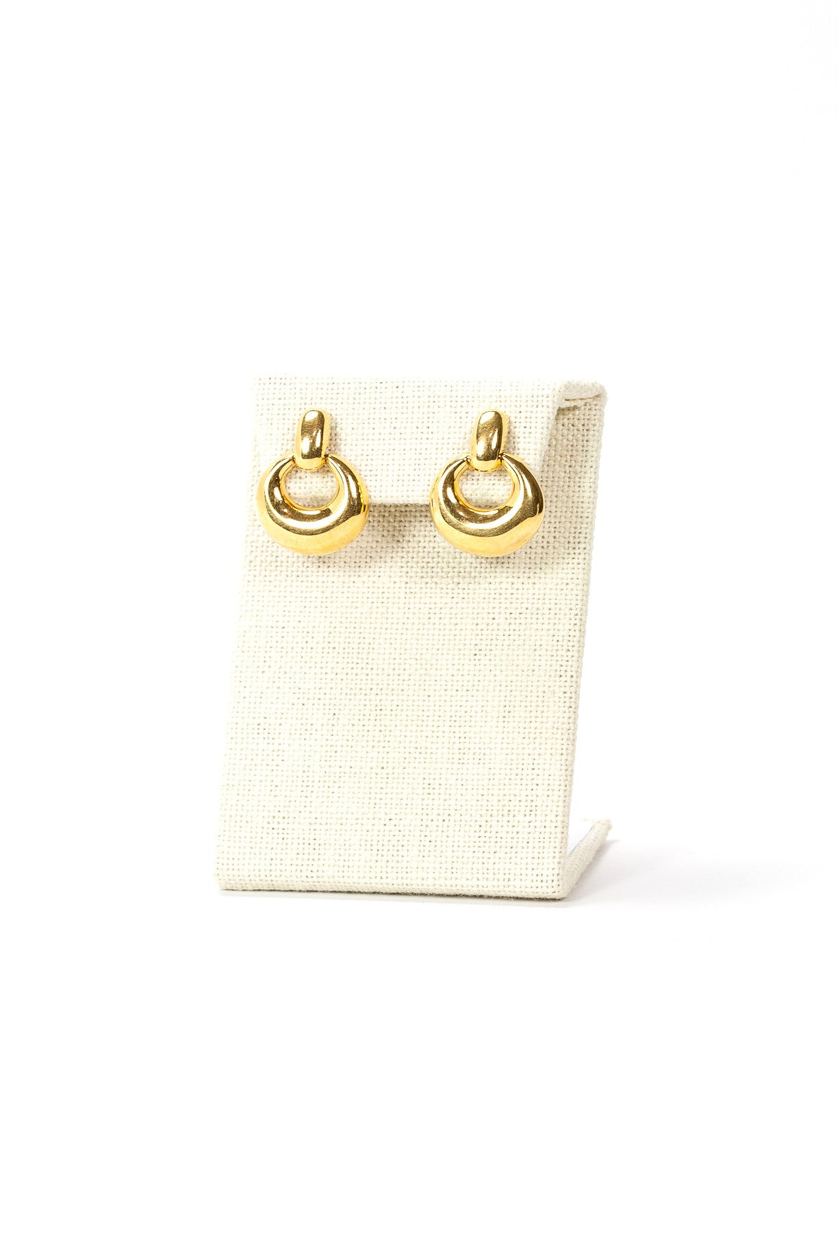 80's__Napier__Gold Link Earrings