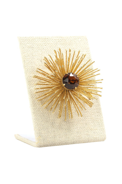 50's__Sarah Coventry__Burst Brooch