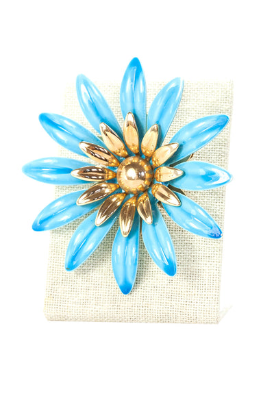 60's__Sarah Coventry__Floral Burst Brooch