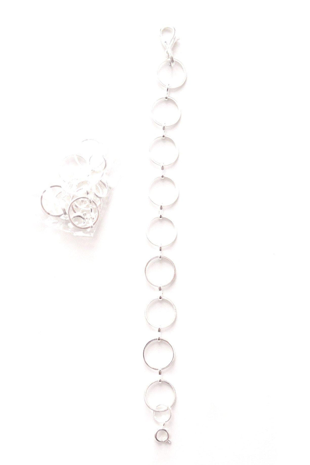 "Silver 5"" Necklace Extender"