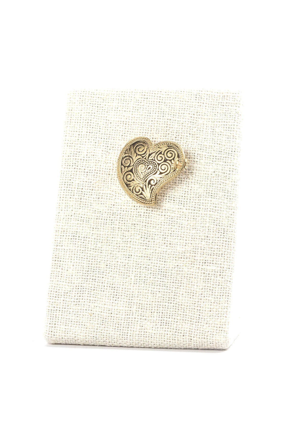 50's__Spain__Mini Heart Brooch