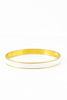 80's__Monet__Skinny Cream Enamel Bangle