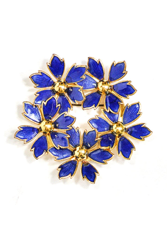 60's__Vintage__Statement Floral Brooch