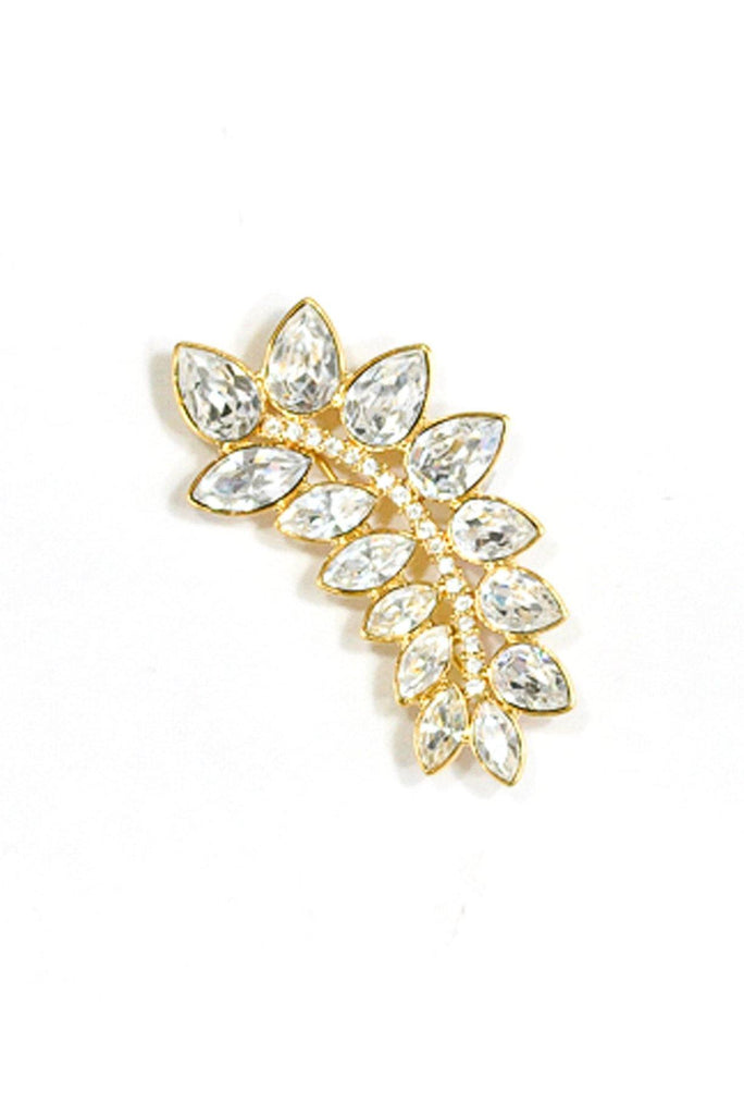 80's__Monet__Statement Rhinestone Brooch