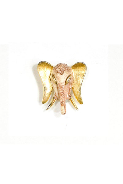 70's__Razza__Elephant Brooch