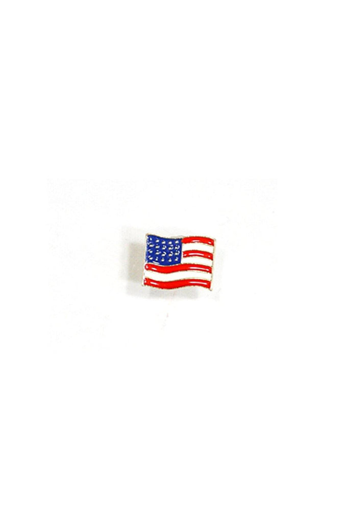 80's__Vintage__American Flag Pin