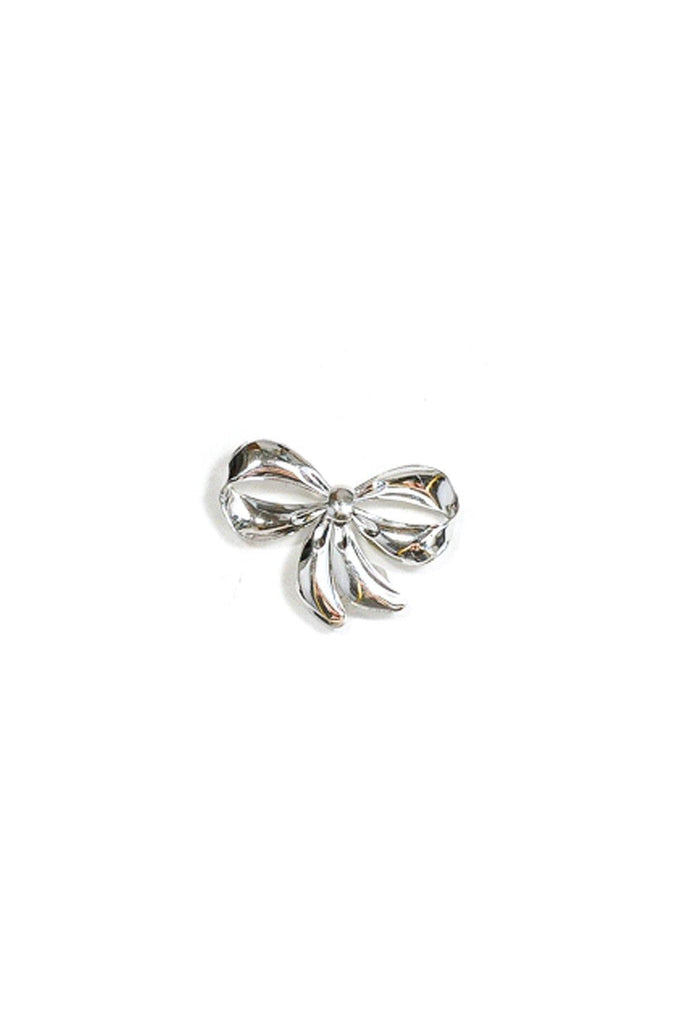 50's__Vintage__Sterling Silver Bow Brooch