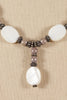 70's__Vintage__Oval Beaded Necklace