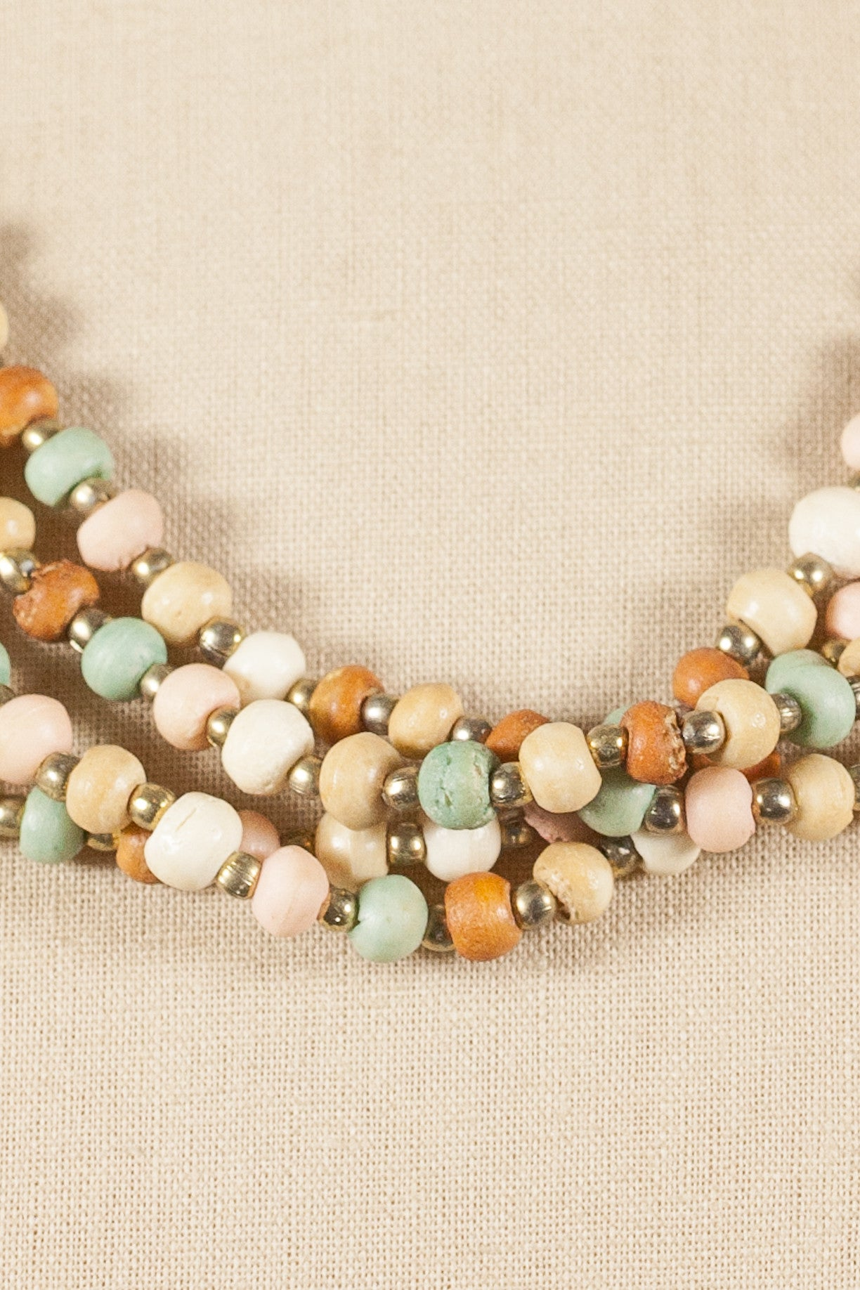 60's__Vintage__Chunky Beaded Necklace