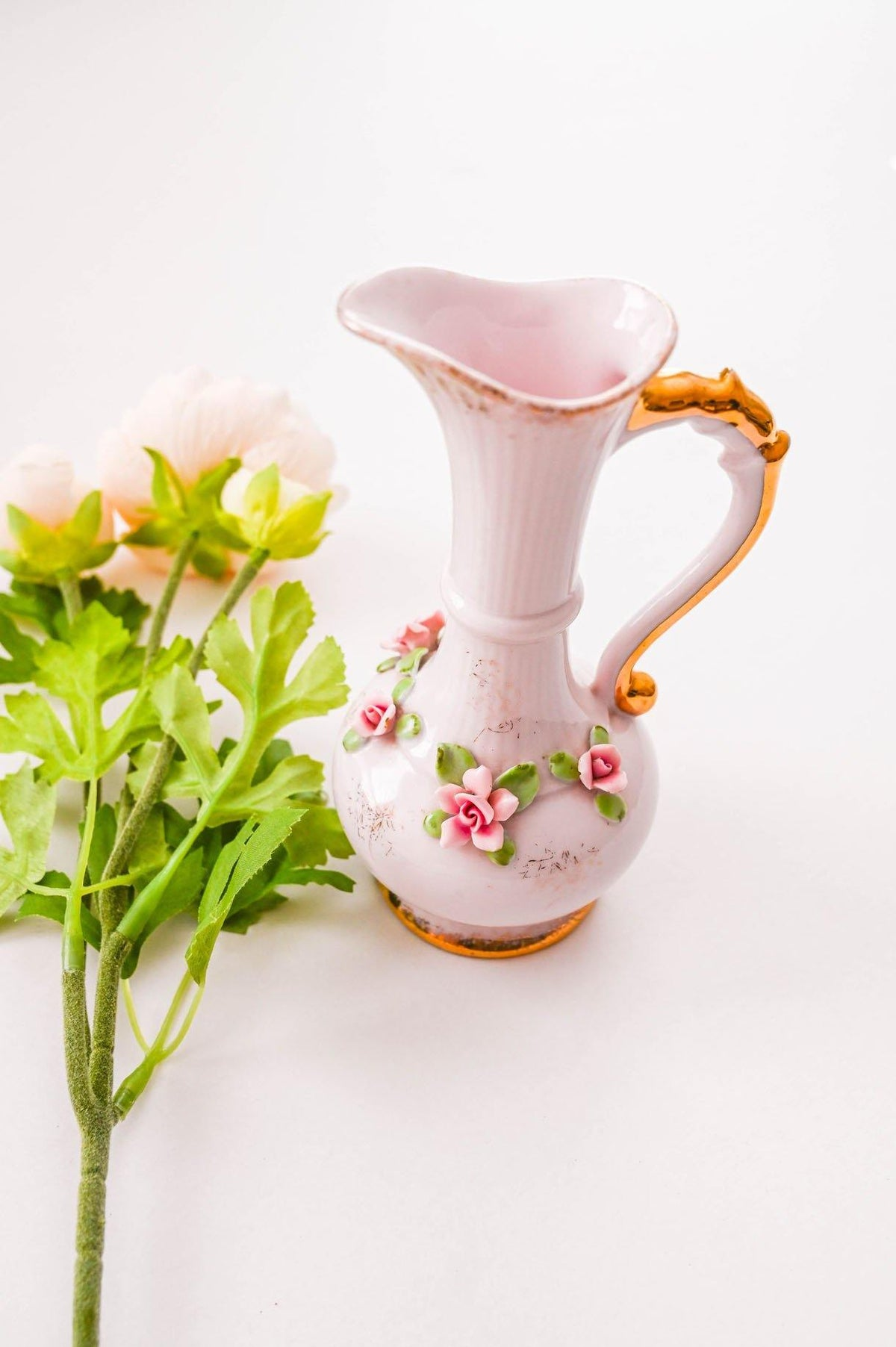 Vintage Pink Pitcher Stems Vase from Sweeet and Spark.