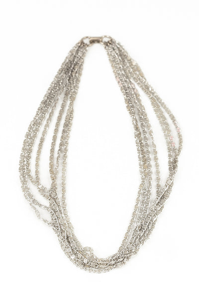 60's__Sarah Coventry__Multi Strand Choker Necklace