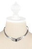 60's__Mexico__Sterling Choker Necklace