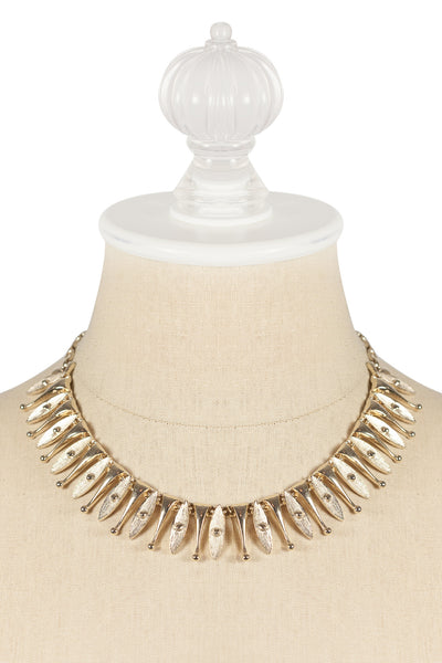 60's__Sarah Coventry__Bold Spike Necklace