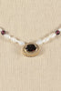 80's__Avon__Ruby Pearl Necklace