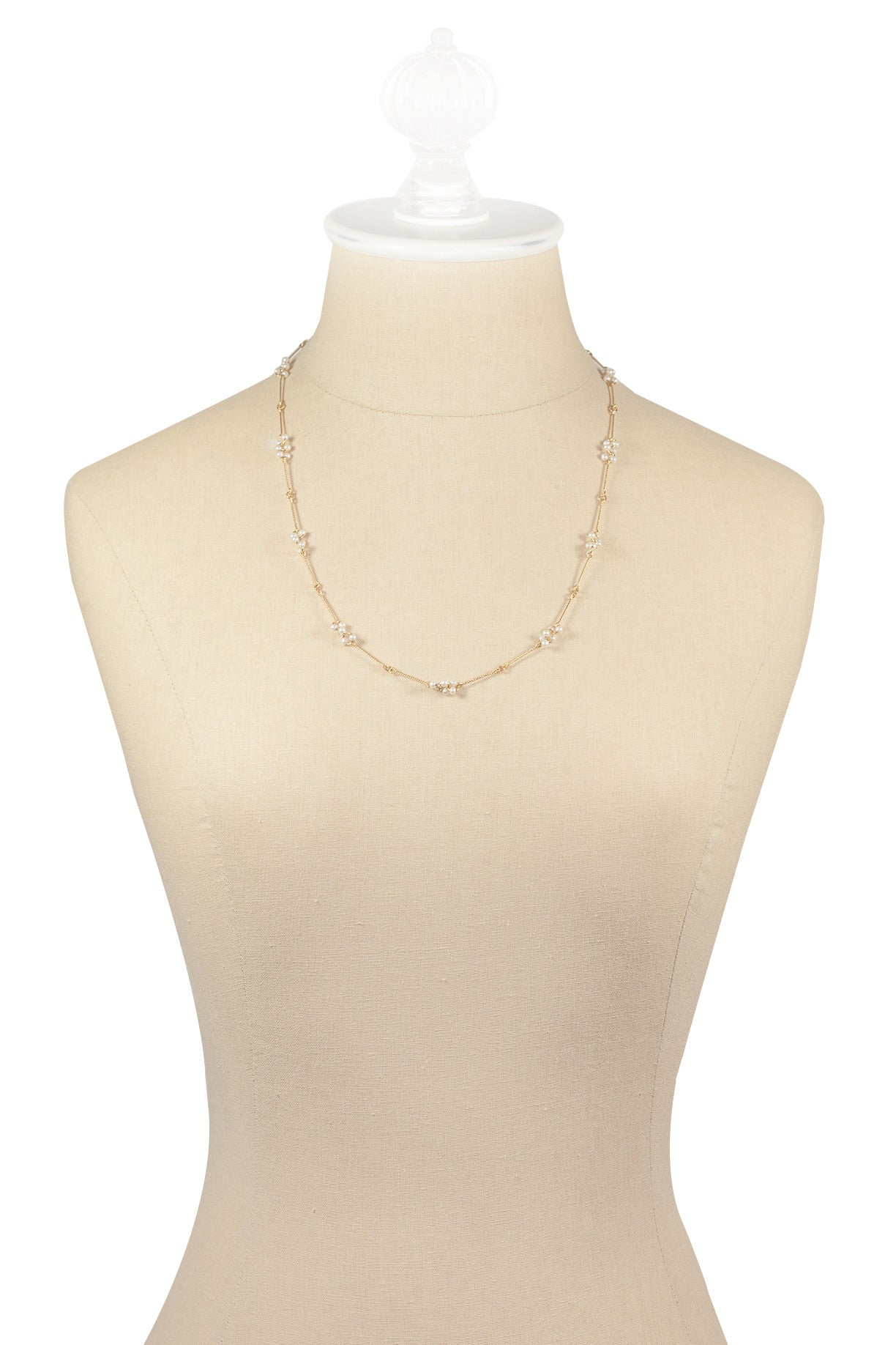 80's__Avon__Pearl Bunches Necklace