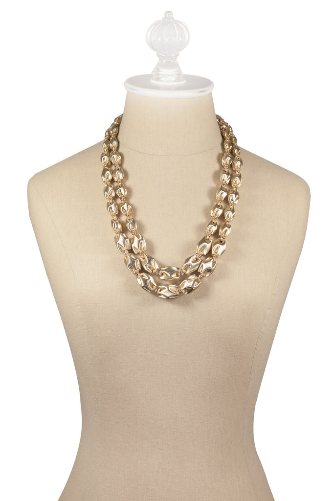 50's__Monet__Chunky Ball Necklace