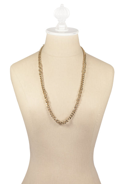 80's__Trifari__Chunky Chain Necklace