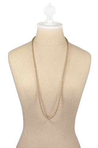 80's__Givenchy__Tube Layering Necklace