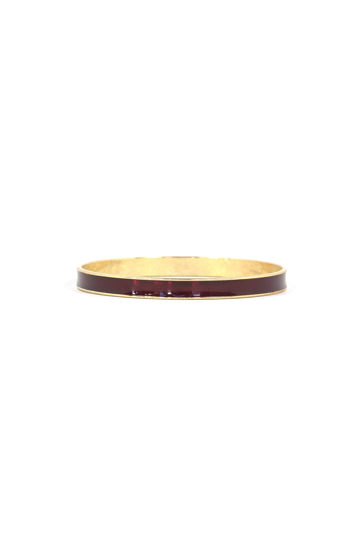 70's__Monet__Deep Red Bangle