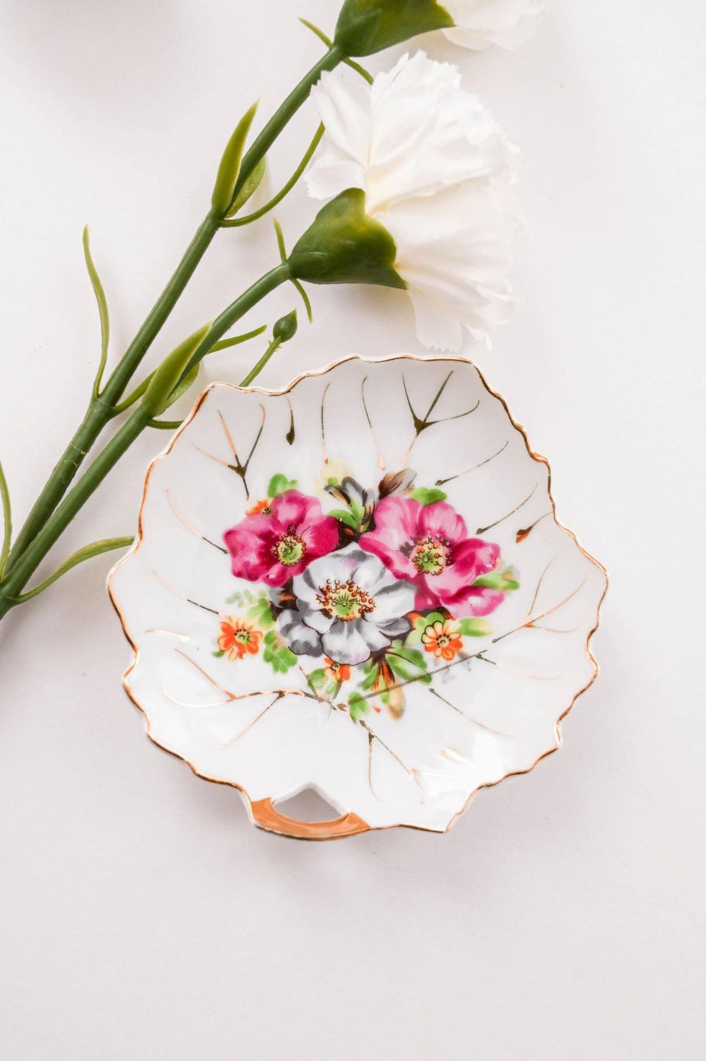 Botanical Leaf Trinket Dish