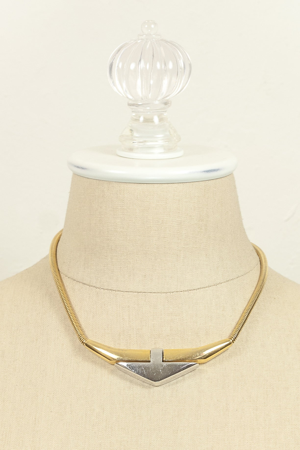 Vintage Givenchy Bold Arrow Necklace