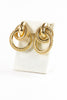 Vintage Givenchy Bold Nautical Clip On Earrings