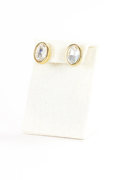 80's__S.A.L__Rhinestone Earrings