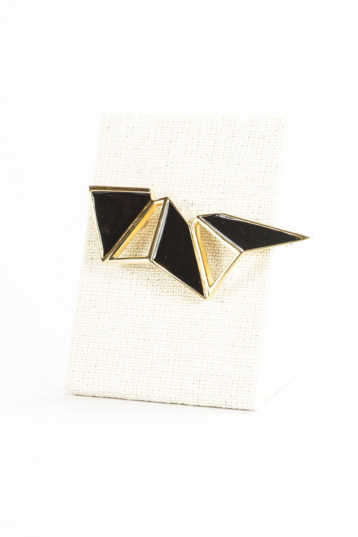 70's__Monet__Geo Abstract Brooch