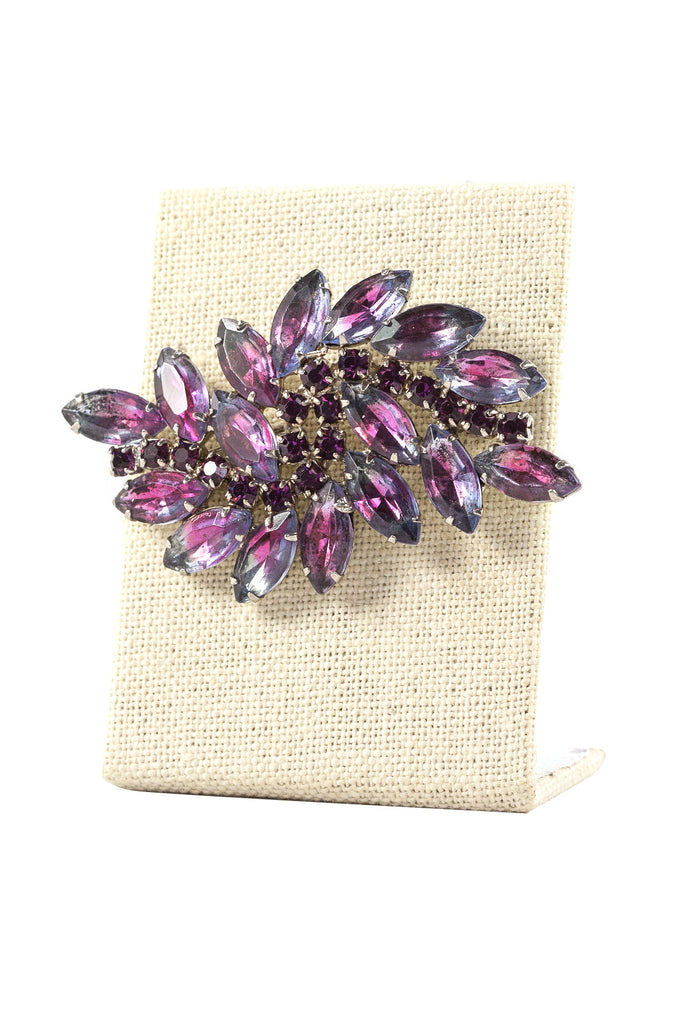 50's__Vintage__Purple Brooch