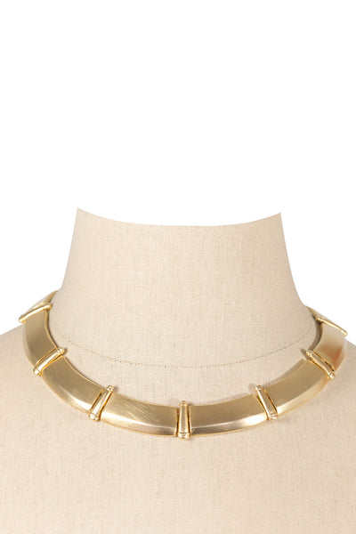 80's__Vintage__Statement Gold Necklace