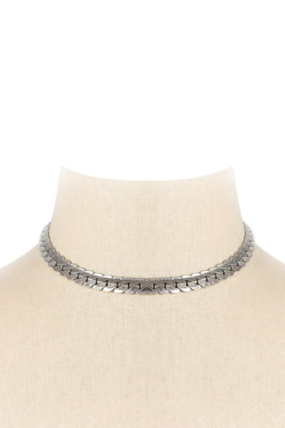 50's__Barclay__Edgy Choker Necklace