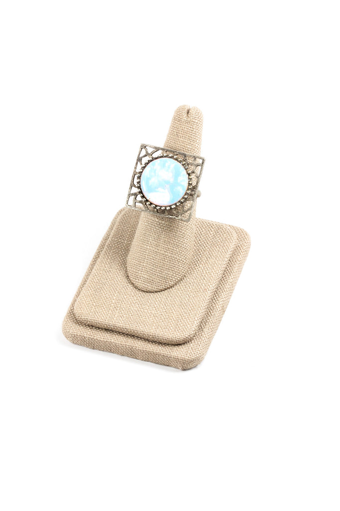 70's__Vintage__Adjustable Boho Statement Ring