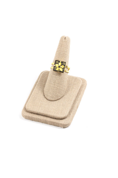 70's__Spain__Adjustable Damascene Ring