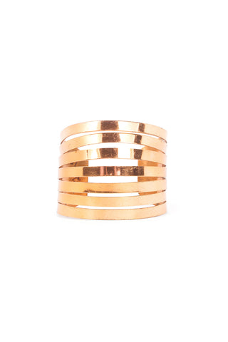 60's__Renoir__Copper Statement Cuff