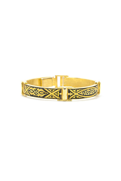 60's__Vintage__Damascene Bangle