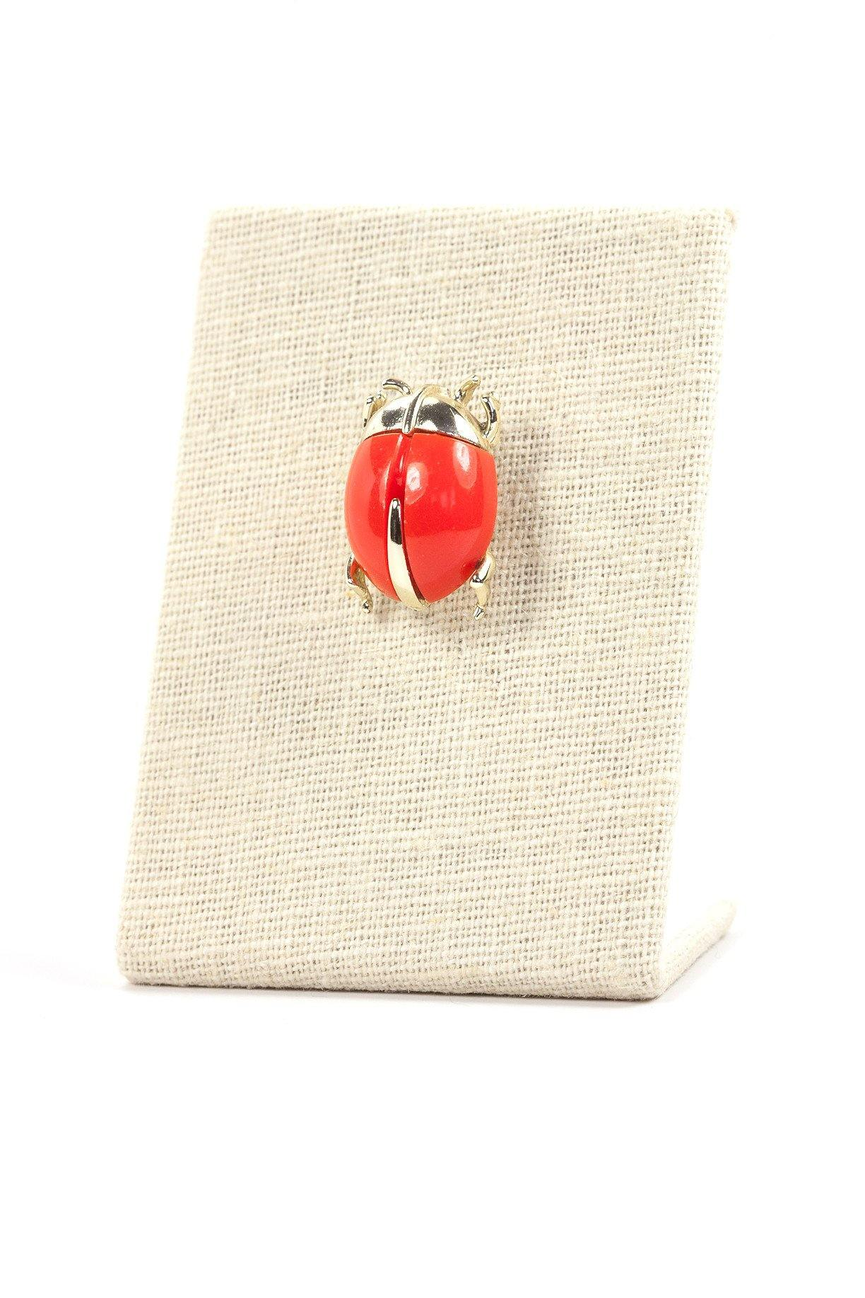 60's__Sarah Coventry__Beetle Brooch