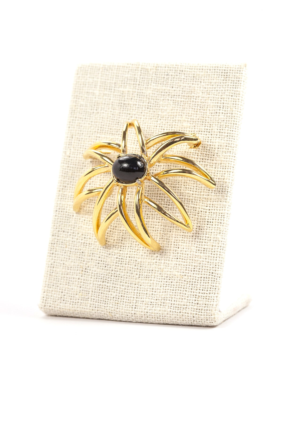 80's__Anne Klein__Burst Brooch
