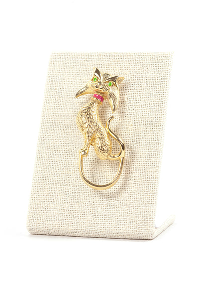 60's__Vintage__Cat Brooch