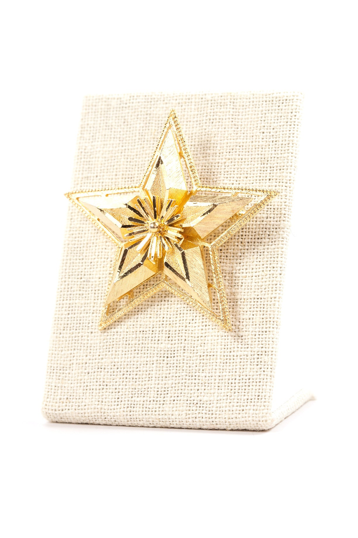 60's__CFW__Star Brooch