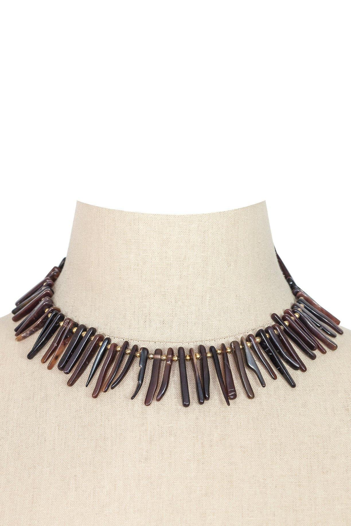 70's__Vintage__Fringe Necklace
