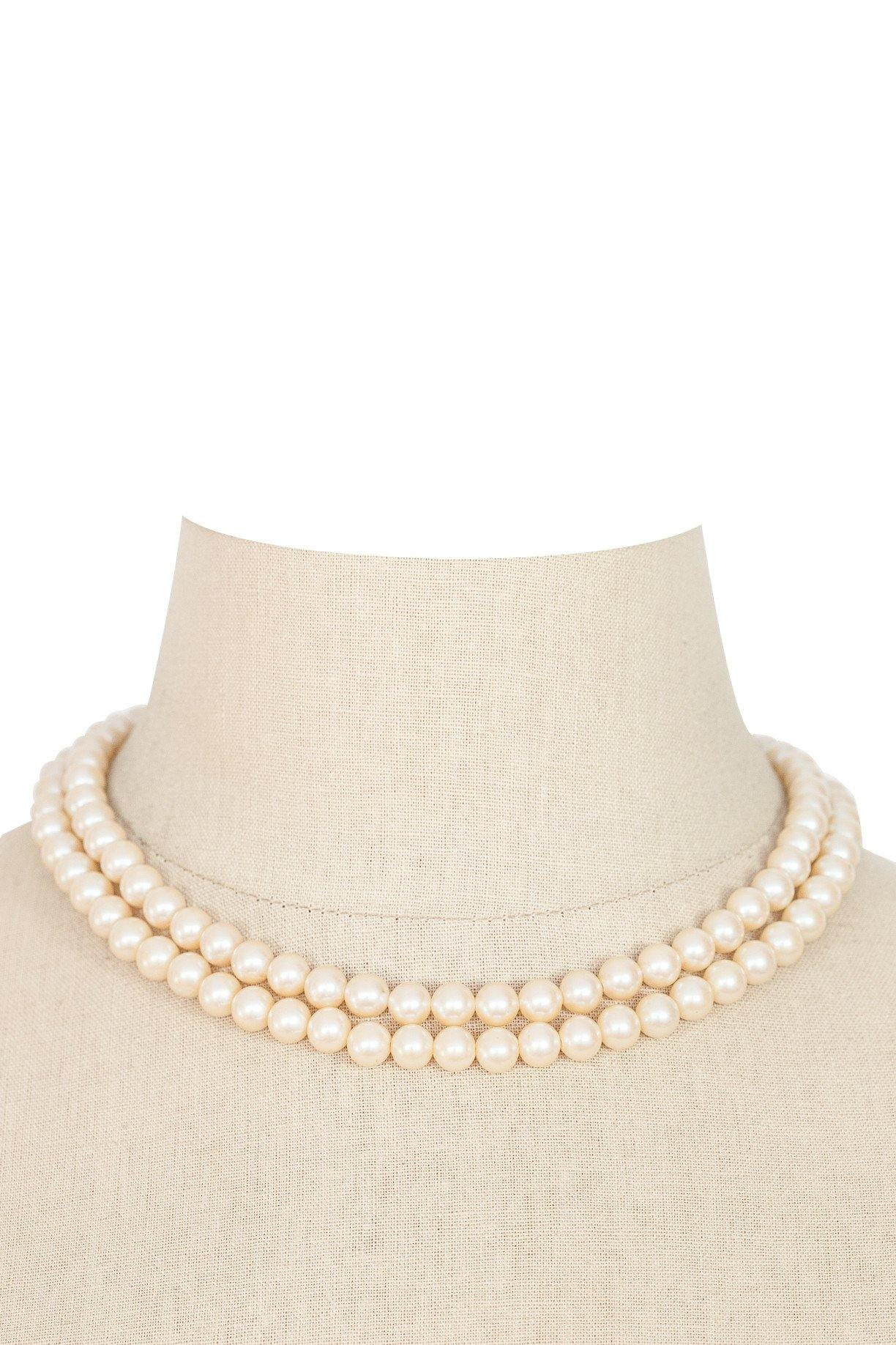 60's__Vintage__Layering Pearl Necklace