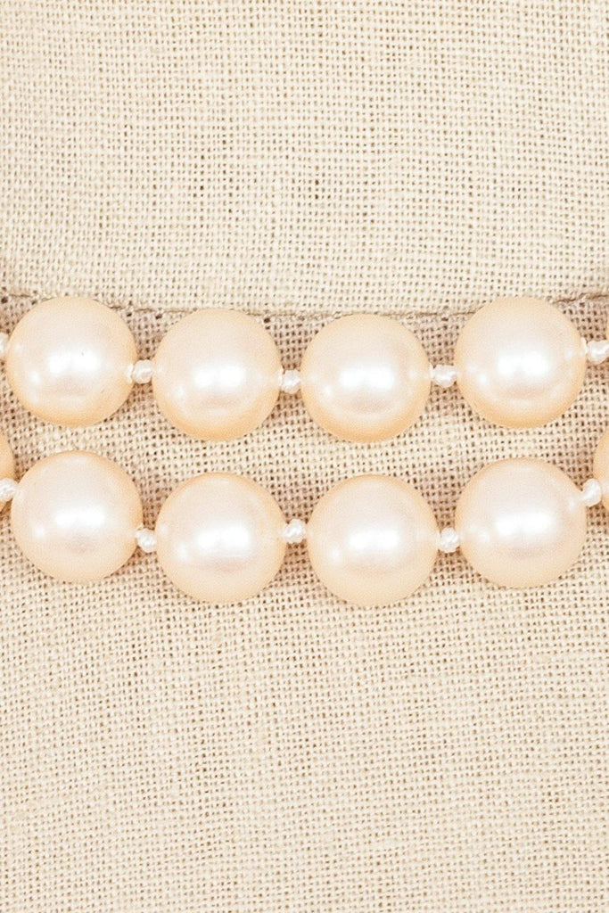 80's__Vintage__Multi Pearl Necklace